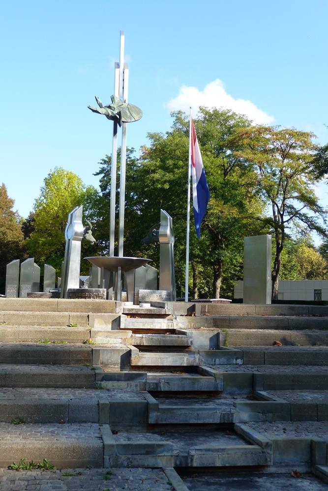 National dutch indies memorial 1945 1962 fountain for 1945 dutch east indies cuisine