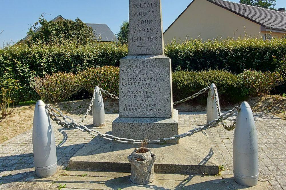 War Memorial Monceau-en-Bessin