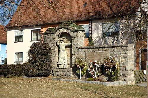 Oorlogsmonument Großhaslach