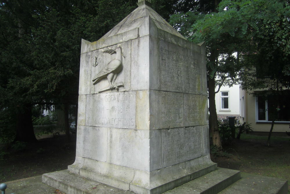 War Memorial Stadtkirche Vegesack