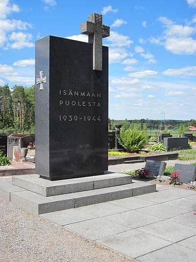 Finse Oorlogsgraven Keikyä