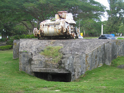 Japanse Kazemat & Tank Garapan