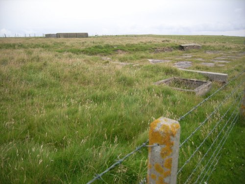 Remains Prisoner-of-War Camp Lamb Holm