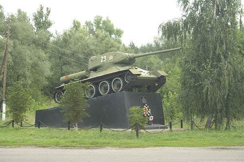 Bevrijdingsmonument (T-34/85 Tank) Dovzhyk