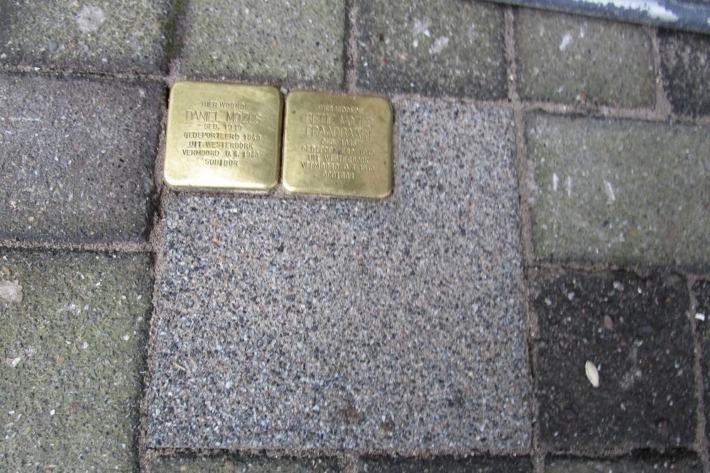Stumbling Stones Schiedamseweg 116B