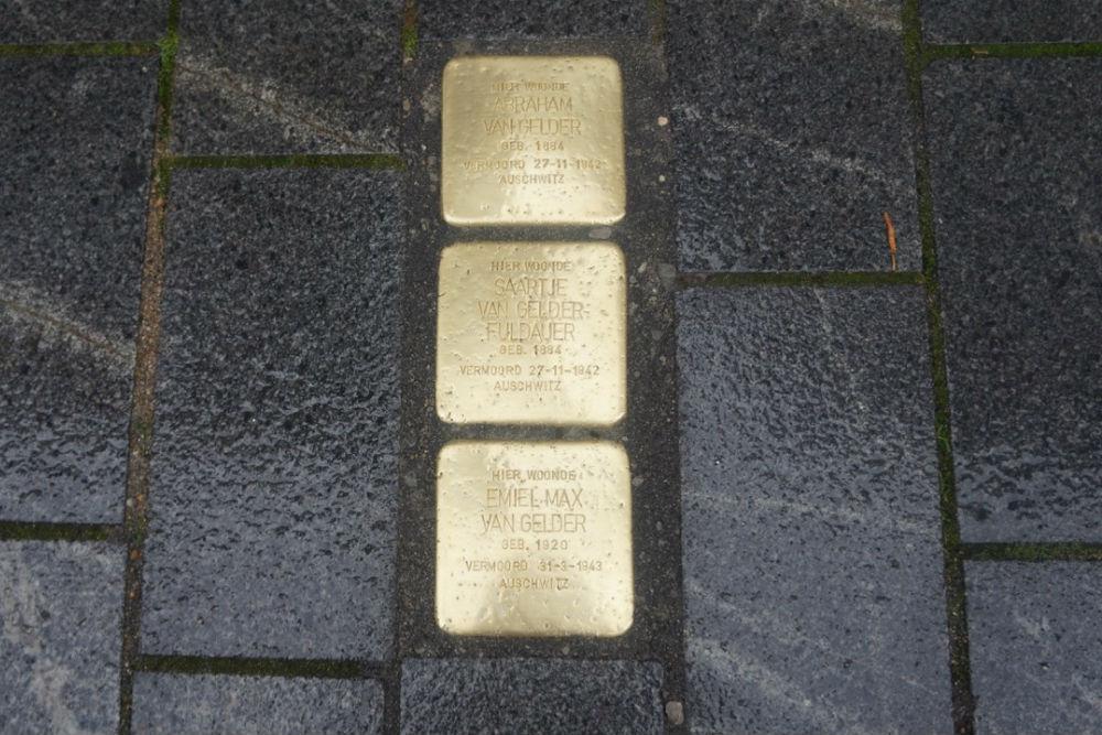Stumbling Stones Pelikaanstraat 14