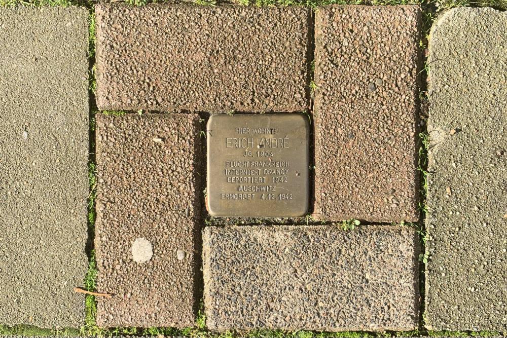 Stolpersteine Thomashofstraße 17