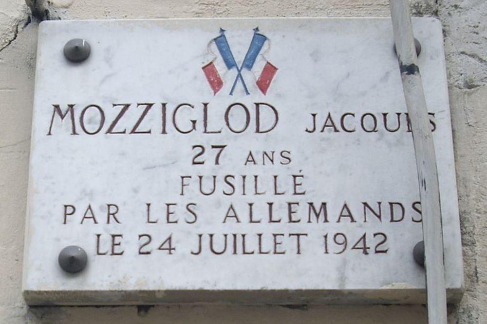 Plaquette Jacques Mozziglod