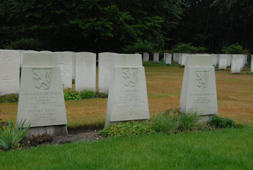 Tsjechoslowaakse Oorlogsgraven Oorlogsbegraafplaats Jonkerbos