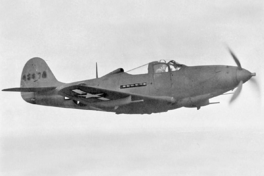 Crash Site P-39K-1-BE Airacobra 42-4287