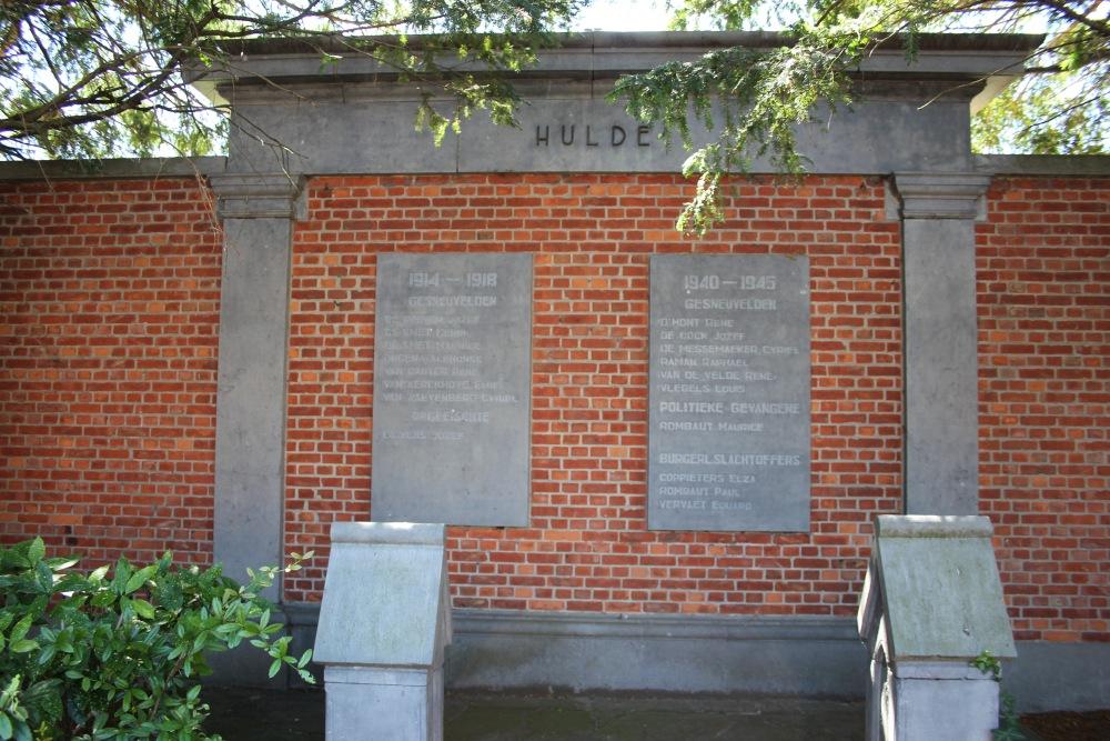 War Memorial Lokeren Heiende