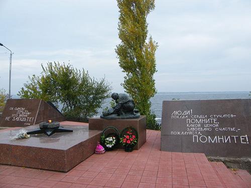 Mass Grave Soviet Soldiers Kakhovka