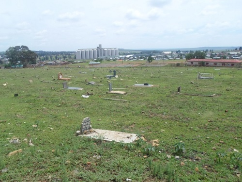 Commonwealth War Grave Petsana Cemetery