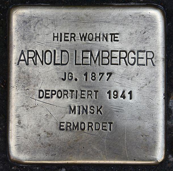 Stumbling Stones Herzog Leopold-Straße 3