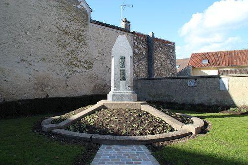 War Memorial Ablis