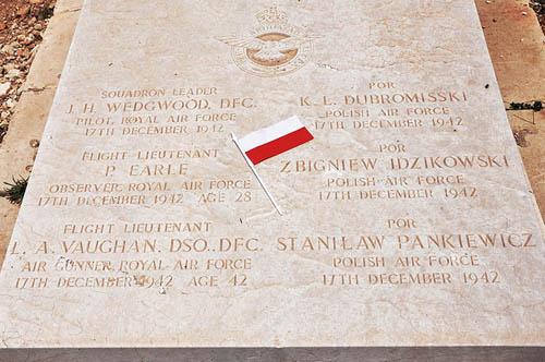 Poolse Oorlogsgraven Kalkara