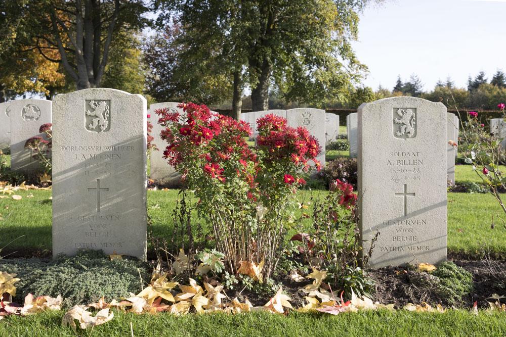 Belgische Oorlogsgraven Canadese Oorlogsbegraafplaats Groesbeek