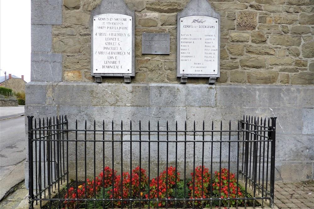 War Memorial Gembes