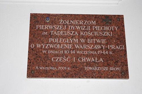 Plaquette Slag om Praga