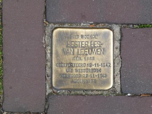 Stolperstein Waterstraat 6