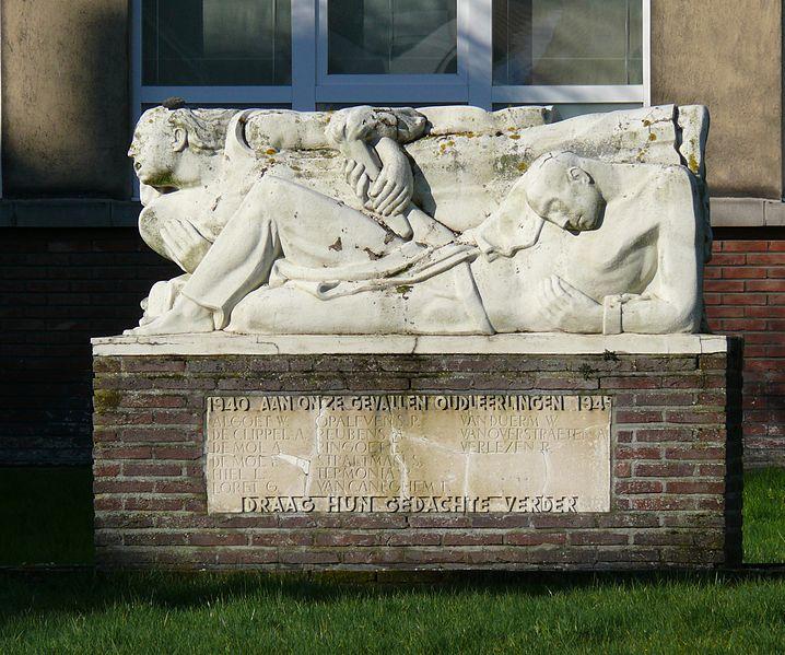 Oorlogsmonument Koninklijk Atheneum van Dendermonde