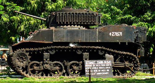 M5A1 Stuart Tank Bangalore