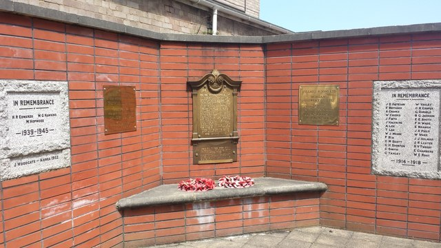 War Memorial Norwich Brewery Companies