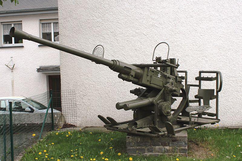 US Anti-Aircraft Gun Perlé