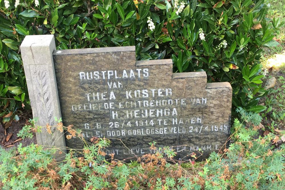 Nederlandse Oorlogsgraven Gemeentelijke Begraafplaats Soest
