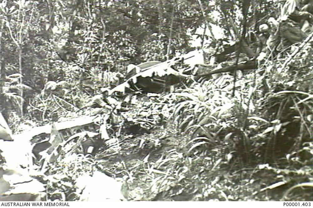 Crash Site & Remains Lockheed PV-1 Ventura NZ4613 Tail 13