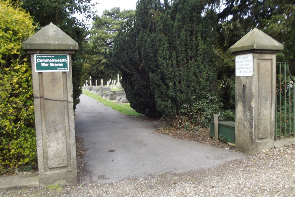 Oorlogsgraven van het Gemenebest Eastgate Cemetery