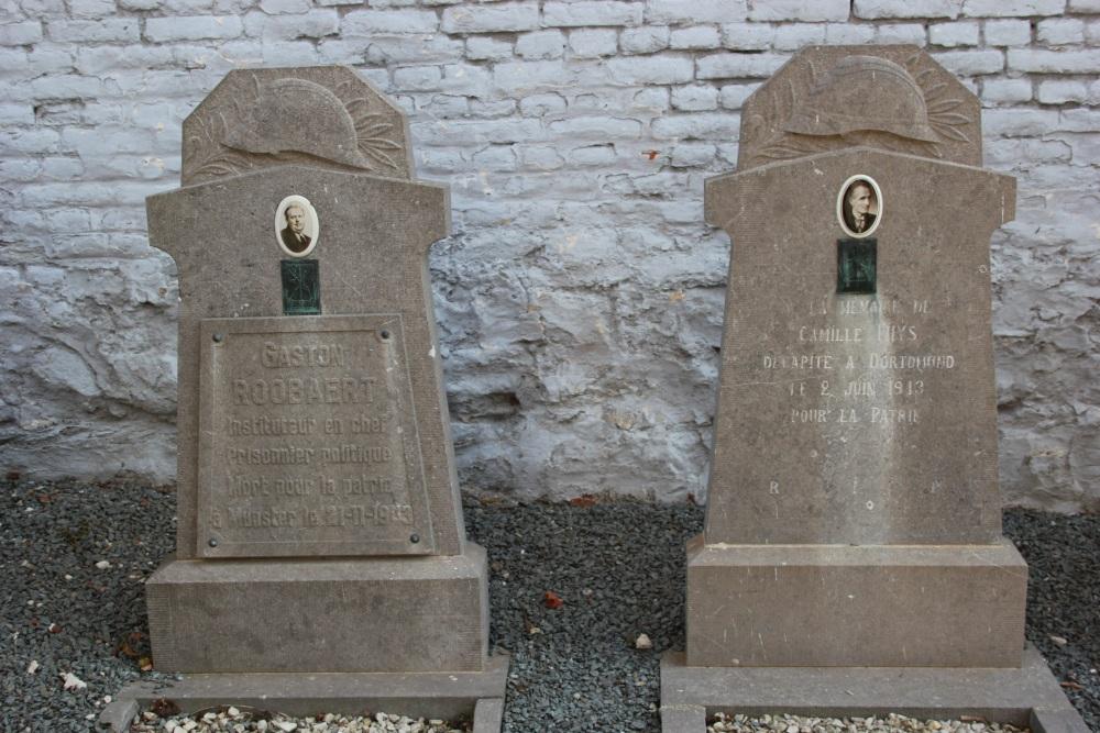 Belgische Oorlogsgraven Bassilly