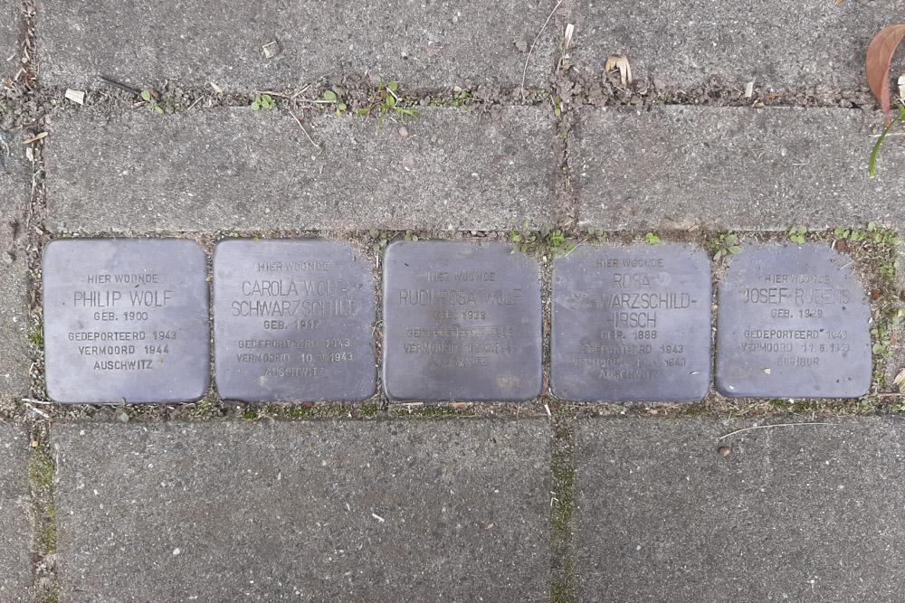 Stumbling Stones Molenstraat 1