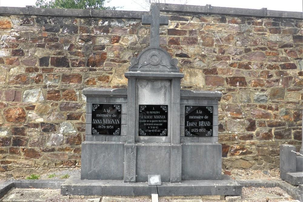 Belgian War Graves Municipal Cemetery Redu