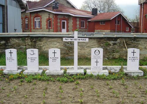Commonwealth War Grave Baramulla