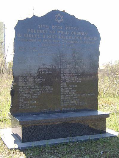 Holocaustmonument Joodse Begraafplaats