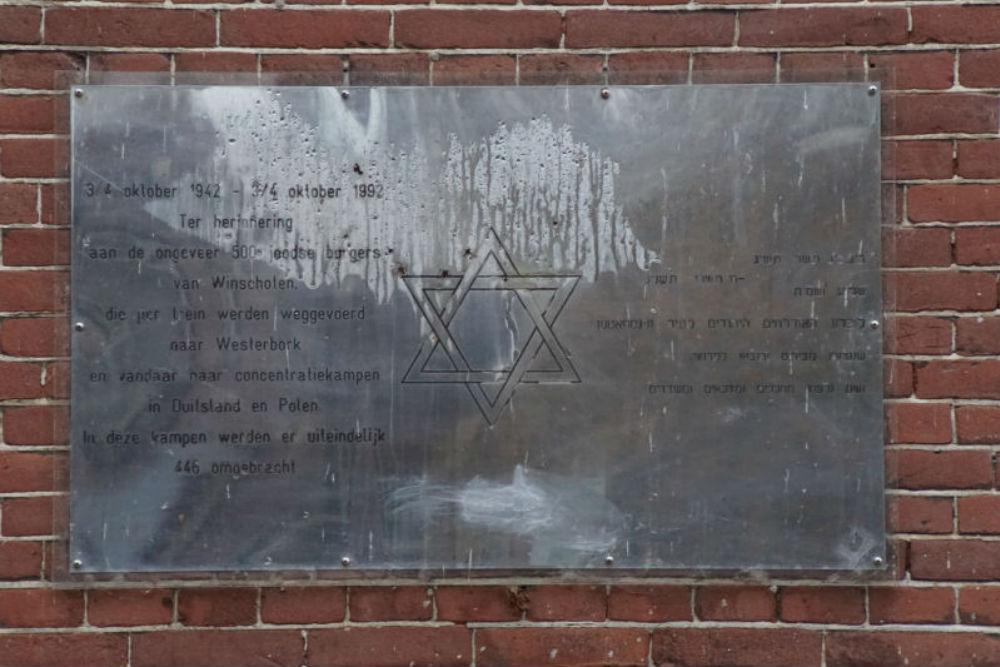 Joods Monument Station Winschoten
