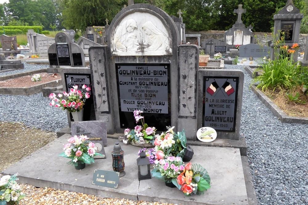 Belgian War Grave Biourge