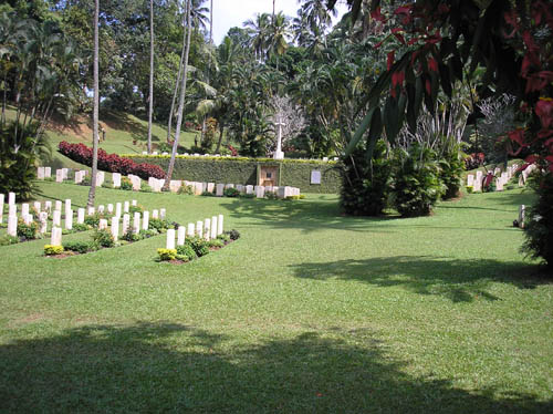 Commonwealth War Cemetery Kandy