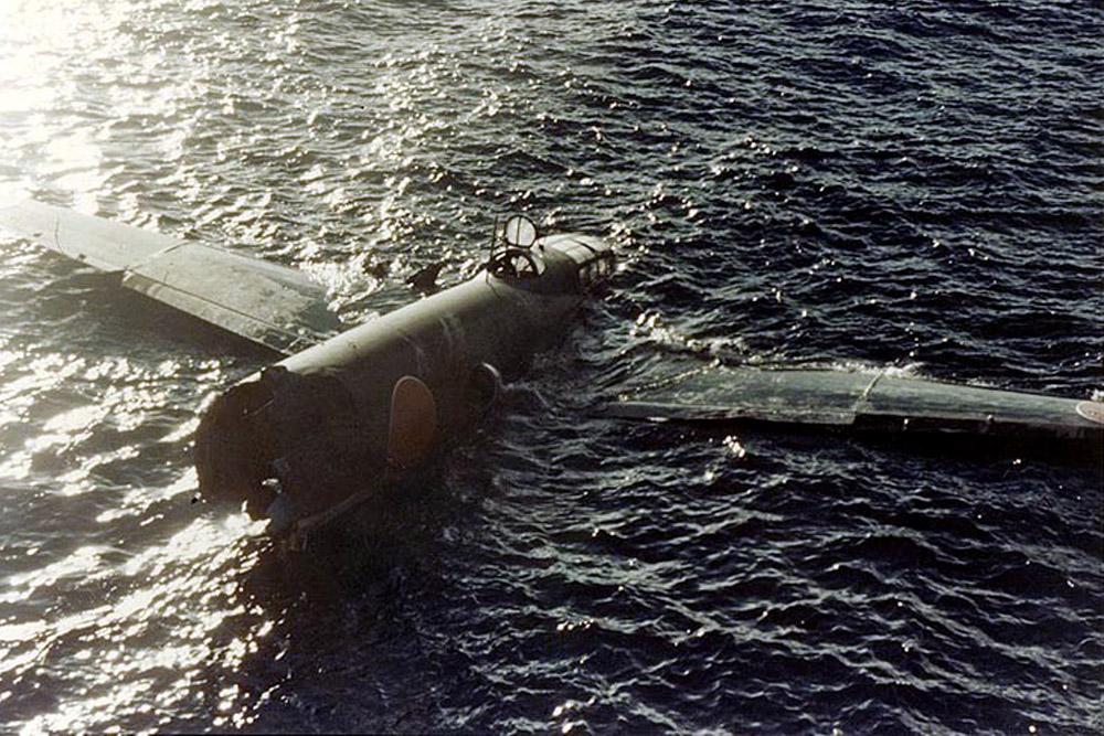 Crash Site Mitsubushi G4M