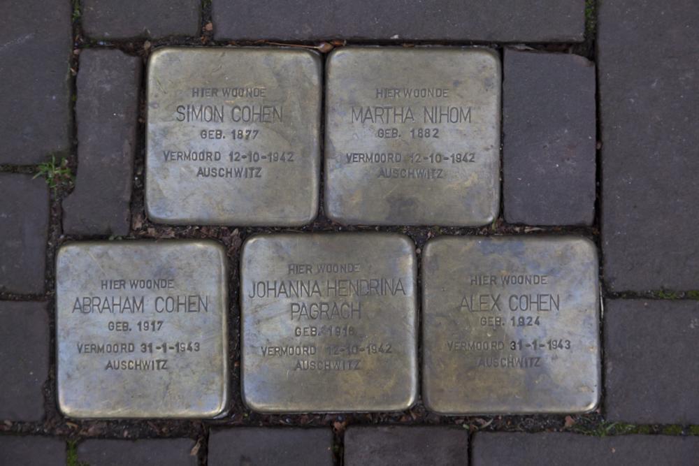 Stolpersteine Van Lawick van Pabtstraat 107