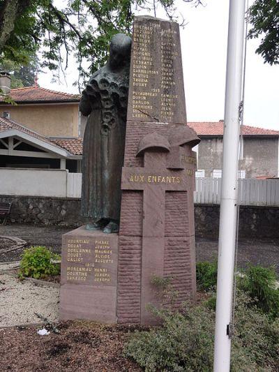 War Memorial Castets