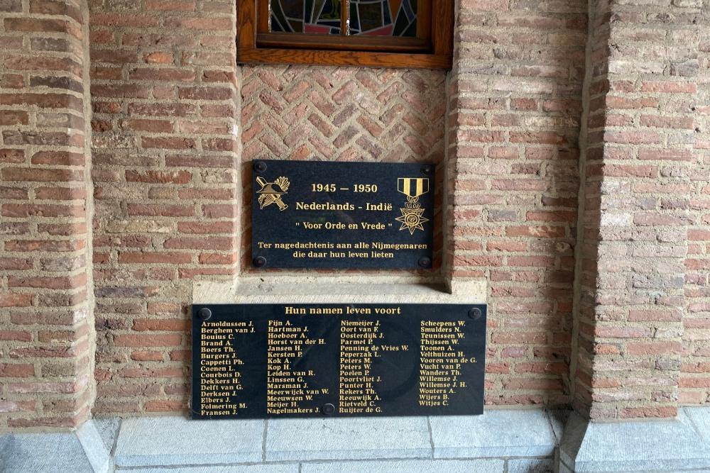 Memorial Dutch Indies Nijmegen
