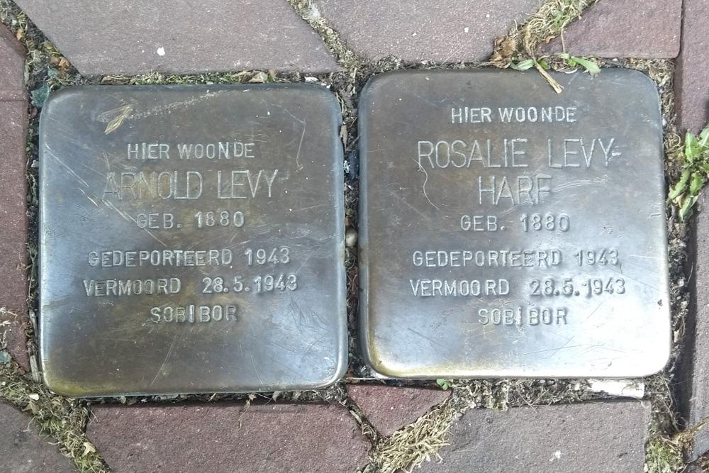 Stumbling Stones Rijksweg Zuid 9 (nu Rijksweg Centrum 9)
