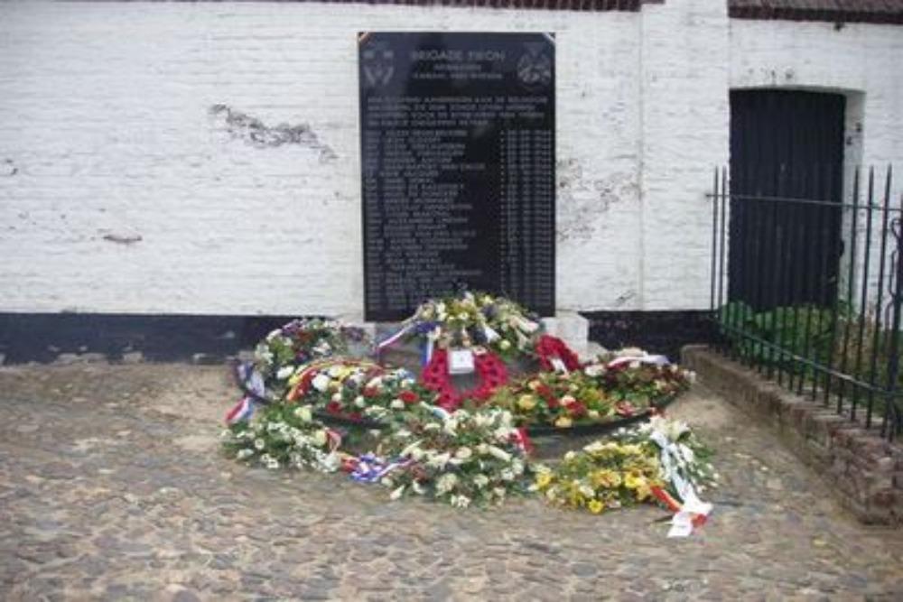 Monument Belgische Militairen Thorn