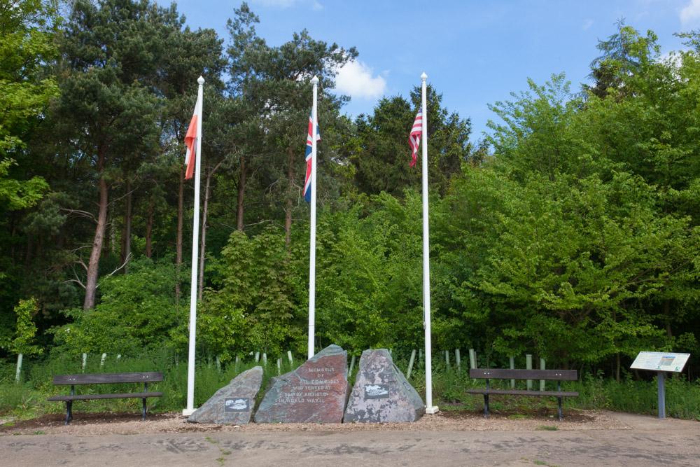 Monument vliegveld Saltby