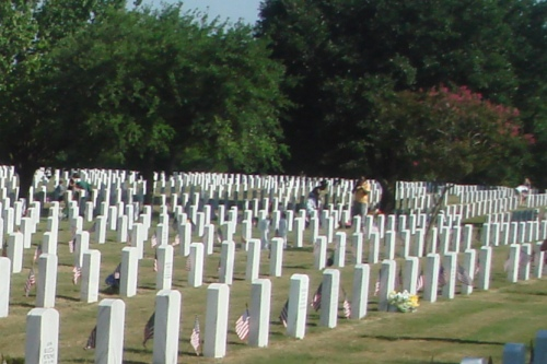 Commonwealth War Graves Fort Sam Houston National Cemetery