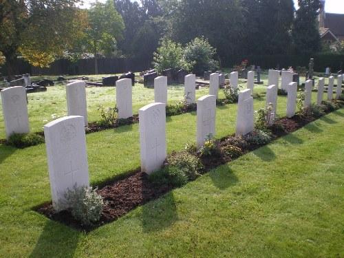 Commonwealth War Graves Redstone Cemetery