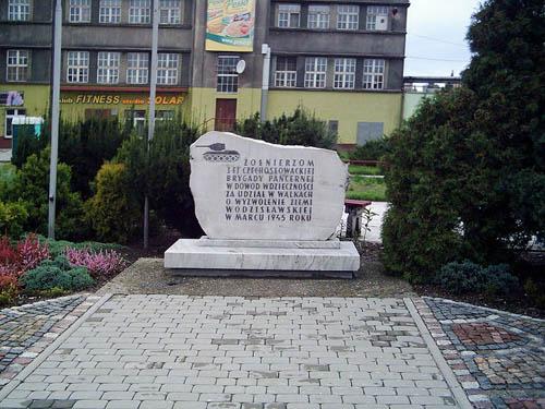 Gedenksteen 1e Onafhankelijke Gemechaniseerde Brigade