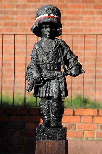 Monument Maly Powstaniec (Kleine Opstandeling)